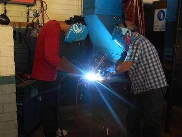 centre programs welding